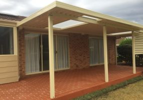 Flat Roof Awning
